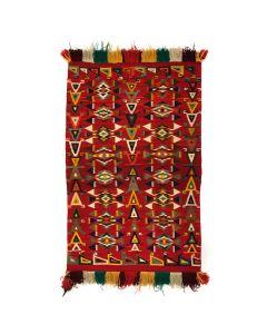 """Navajo Germantown Rug c. 1890s, 55"""" x 35"""" (T90293B-0120-001) 1"""