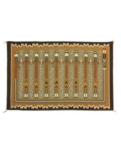 """Navajo Yei Pictorial Rug, 53"""" x 78"""" (T90323A-0120-001)"""