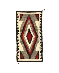 """Navajo Ganado Rug c. 1930s, 66"""" x 33.5"""" (T90346B-1119-064)"""