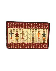 "Navajo Yei Pictorial Rug c. 1920s, 44.5"" x 71.5"" (T90358B-0421-002)"