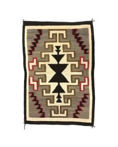 """Navajo Klagetoh Rug c. 1920s, 65"""" x 44"""""""