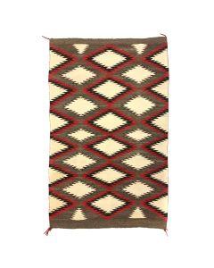 "Navajo Red Mesa Rug c. 1930s, 66"" x 45"""