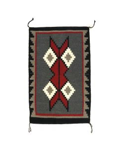 """Katie Seimy - Navajo Ganado Rug c. 1970-80s, 32"""" x 20.5"""""""
