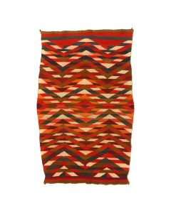 "Navajo Transitional Blanket c. 1890s, 81"" x 43"" (T90592-1019-003)"