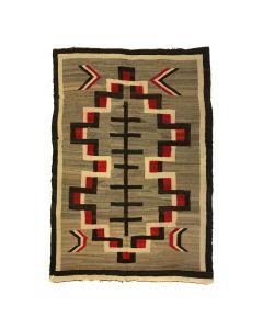 """Navajo Ganado Rug c. 1900-1910s, 74.5"""" x 55"""" (T90594-1219-001)"""