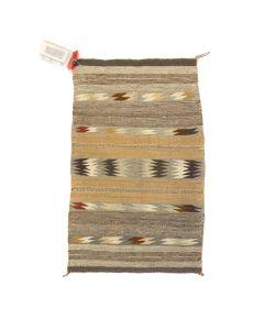 """Navajo Crystal Rug c. 1960-70s, 37.5"""" x 21"""""""