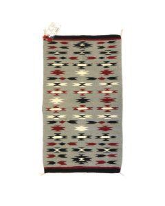 """Navajo Ganado Rug c. 1970s, 45"""" x 24.5"""""""