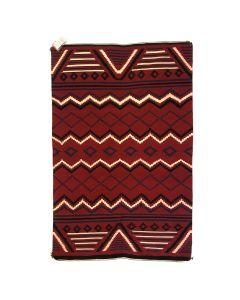 "Navajo Chief's Revival Blanket c. 1980s, 86"" x 53.5"""