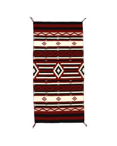 """Navajo Contemporary Hubbell Revival Blanket, 60.75"""" x 34.75""""(T91051-0821-009)4"""