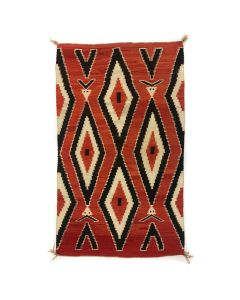 "Navajo Transitional Ganado Pictorial Blanket c. 1890s, 68.5"" x 48"" (T91051-1020-001)"