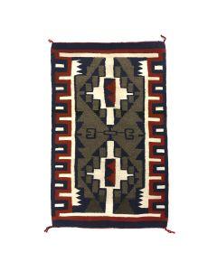 """Navajo Contemporary Ganado Rug, 35"""" x 22.25"""" (T91102A-1120-011)"""