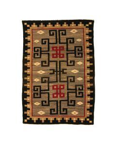"""Navajo Ganado Rug c. 1910s, 71"""" x 49"""" (T91138A-0120-030)"""
