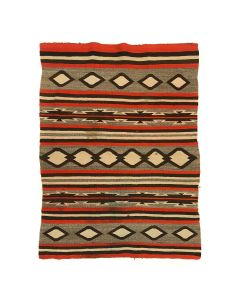 """Navajo Chinle Rug c. 1890-1900s, 48.5"""" x 34.5"""" (T91144A-1120-001)"""