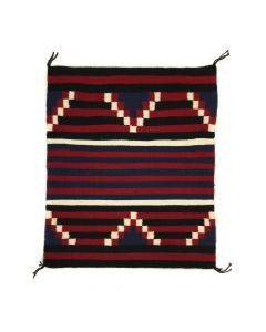"Navajo Moki/3rd Phase Chief's Revival Blanket Sampler c. 1980-90s, 29"" x 24.25"" (T91243B-0420-002)"