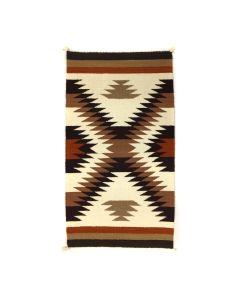 """Navajo Crystal Rug c. 1970s, 35"""" x 19"""" (T91243B-0420-005)"""