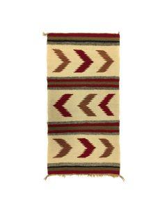 "Navajo Gallup Throw c. 1940s, 38.5"" x 20"" (T91243B-0420-009)"