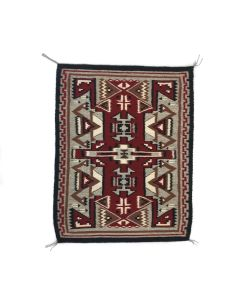 "Navajo Contemporary Teec Nos Pos Rug, 35.5"" x 27.75"" (T91370A-0521-005)"