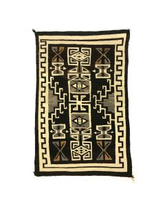 "Navajo Two Grey Hills Rug c. 1930s, 65"" x 41"" (T91468-0520-001)"