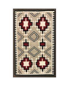"""Navajo Ganado Rug c. 1930s, 153"""" x 98"""" (T91613A-0220-001)"""