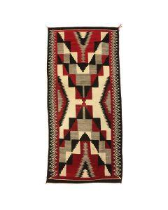 """Navajo Ganado Rug c. 1930-40s, 107.5"""" x 47"""" (T91642A-1120-001)"""
