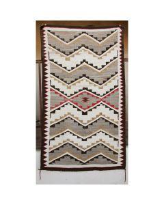 """Navajo Crystal Rug, c. 1910, 66.5"""" x 36.5"""""""