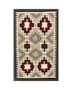 "Large Navajo Ganado Rug c. 1930s, 153"" x 98"" (T91927C-1220-001)"