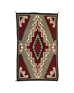 "Mary Nez - Navajo Klagetoh Rug c. 1960s, 103"" x 63.25"""