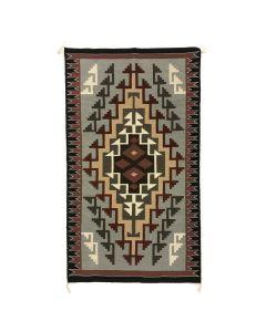 """Navajo Contemporary Ganado Rug, 61"""" x 35.25"""" (T91981C-1120-004)"""