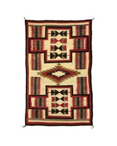 """Navajo Ganado Rug c. 1920s, 72.5"""" x 46.5"""" (J92010A-0220-001)"""