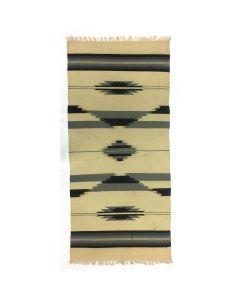 """Chimayo Blanket, c. 1920-30, 89"""" x 41"""""""