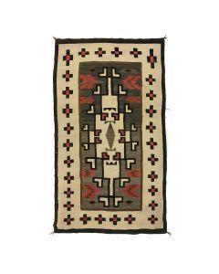 "Navajo Klagetoh Rug c. 1920s, 76.5"" x 43.5"" (T92323A-1020-011)"