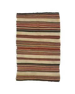 "Navajo Banded Blanket c. 1920s, 60.5"" x 48"" (T92323A-1020-022)"