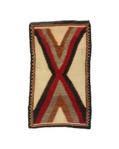 """Navajo Ganado Rug c. 1915, 68.5"""" x 41"""" (T92323A-1020-023)"""