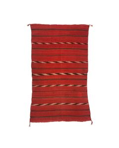 "Navajo Saddle Blanket c. 1880-1890s, 48"" x 29.5"" (T92348A-0621-028)"