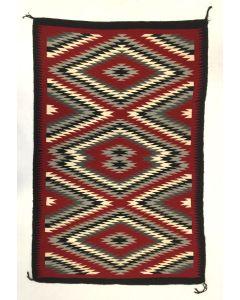 """Navajo Ganado Rug c. 1980-90s, 72"""" x 47.5"""" (T92498-0316-014)"""