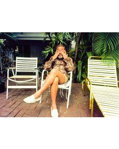 Nathan Benn - Tennessee Williams, Key West, 1981