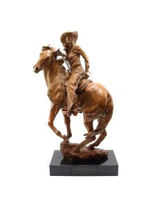 Deborah Copenhaver-Fellows - The Wind Her Only Guide for Youth Was in the Saddle There with Half a World to Ride