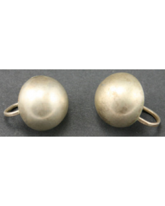 SOLD William Spratling - Mexican Silver Earrings, c. 1930s