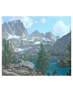 SOLD Robert Clunie (1895-1984) - Fifth Lake, Palisade Region, Sierra Nevada