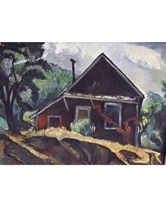 SOLD Charles Surendorf (1906-1979) - Farm House