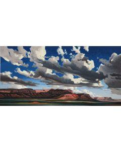 Ed Mell - Vermilion Cliffs (Lithograph)
