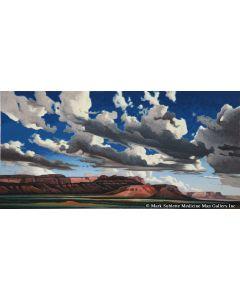 Ed Mell - Vermillion Cliffs (Lithograph)