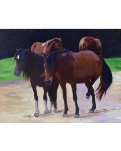 x SOLD Moira Marti Geoffrion - Wild Horses