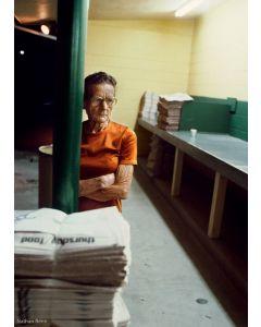 Nathan Benn - Working Woman at 3 a.m., St. Petersburg, Florida, 1981