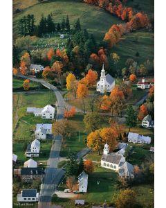 Nathan Benn - Yankee Autumn, Srafford, Vermont, 1973