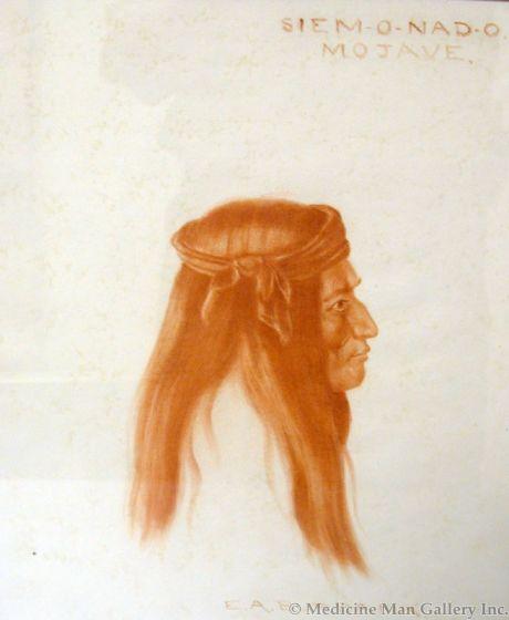 SOLD E. A. Burbank (1858-1949) - Siem-o-nad-o, Mojave