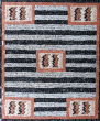 SOLD Anne Ziemienski - Navajo Chiefs Blanket Variant Mosaic Table