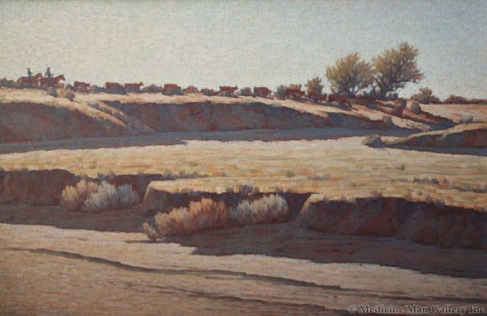 SOLD Edith Hamlin - Desert Wash, Tucson, Arizona
