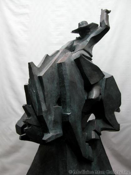 SOLD Ed Mell - Jack Knife Monumental