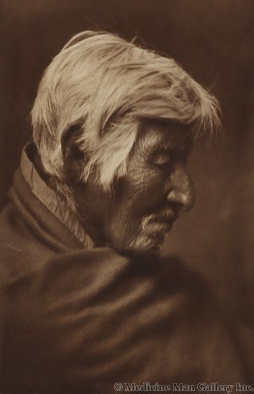 Edward S. Curtis (1868-1952) – Klickitat Profile